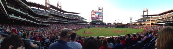 Phillies Panorama (8/24/2013)